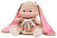 Мягкая игрушка Jack&Lin Зайка Лин в цветочном платье 25 см (JL-003-25)