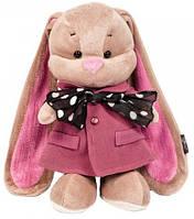 Мягкая игрушка Jack&Lin Зайка Лин в розовом пальто и шарфике 25 см (JL-004ST-25)