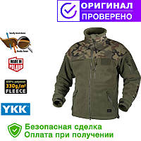 Флисовая кофта Helikon-Tex Infantry Duty Fleece Jacket Olive Green S, M, L, XL/regular (BL-INF-HF-18)