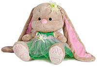 Мягкая игрушка Jack&Lin Зайка Лин в салатовом платье 25 см (JL-020-25)