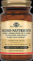 Витамины для мозга Нейронутриентс, Solgar, Neuro-Nutrients, 30 капсул