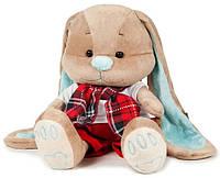 Мягкая игрушка Jack&Lin Зайчик Жак в красных штанишках и шарфике 25 см (JL-011-25)