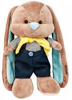 Мягкая игрушка Jack&Lin Зайчик Жак в костюмчике морячка 25 см (JL-012ST-25)