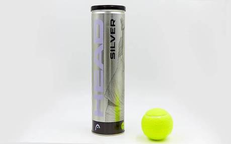 Мяч для большого тенниса HEAD SILVER METAL 571304, фото 2