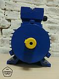Электродвигатель 5,5 кВт 3000 об. Асинхронный Трехфазный АИР100L2., фото 2