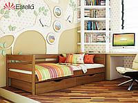 """Деревянная кровать """"Нота"""" 800х1900 (щит)"""