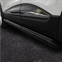 Боковые пороги Оригинал (2 шт) к Renault Kadjar