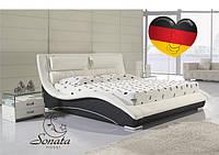 Белая кровать Соната мобель Германия