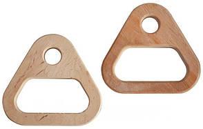 """Кольца гимнастические детские"""" (дерево) - треугольники для активного отдыха"""