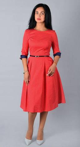 """Платье-миди  """"Анна"""" размеры 44,50, фото 2"""