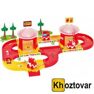 """Игровой набор """"Пожарная станция"""" Wader Kid Cars 3D 53310"""