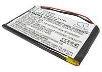Аккумуляторная батарея CameronSino для GPS навигаторов Garmin Nuvi 710/760/765, 1250mAh