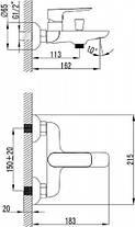 Комплект(набор) смесителей для ванны Ravak Classic, фото 3