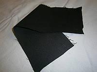 Ткань джинсовая черно-синяя плотная  №09(С2)