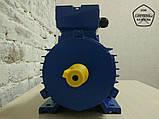 Електродвигун 2,2 кВт 1500 об. Асинхронний Трифазний АИР90L4., фото 2