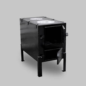 Печь КВД-150 с варочной плитой, фото 2