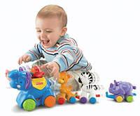 """Развивающая игрушка """" Паровозик с животными"""" от Fisher-Price, фото 1"""