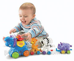"""Развивающая игрушка """" Паровозик с животными"""" от Fisher-Price"""