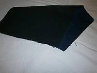 Ткань джинсовая темно-синяя плотная  №08(С2)