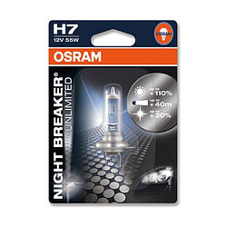 "Галогенка 12В ""Osram"" H1 55 Night Breaker +110% (64150 NBU-01B)"