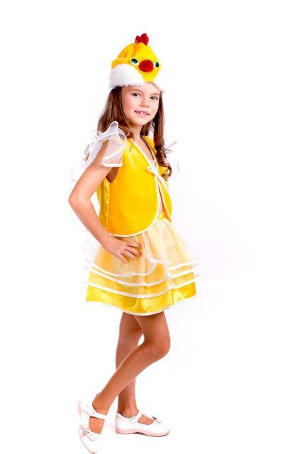 Детский карнавальный костюм Курочка для девочки