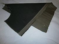 Ткань джинсовая темно-коричневая плотная  №06(С2)