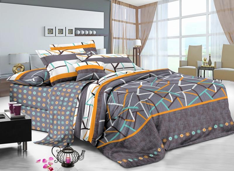 Полуторный комплект постельного белья Геометрия