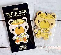 """Стильный парфюмированный ароматизатор авто/гардероб """"Mango TED"""" Манго"""
