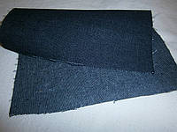 Ткань джинсовая сине-серая плотная  №03(С2)