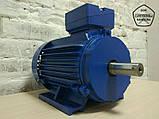Электродвигатель АИР90L6 - 1,5 кВт 1000 об/мин. Асинхронный Трехфазный., фото 2