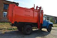 Сміттєвоз КО-431-02 з боковим завантаженням на шасі ЗІЛ-130