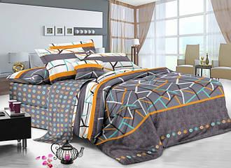 Двуспальный комплект постельного белья Геометрия