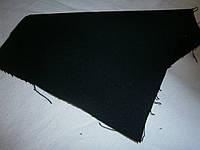 Ткань джинсовая черная плотная  №04(С2)экстра остатки