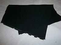 Ткань джинсовая темно-синяя плотная  №1(С2)