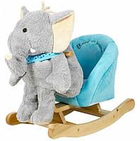 Дитяче крісло-качалка Rock My Baby 3в1 Слоник (JR2503)