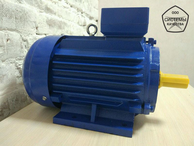 Електродвигун АИР90LB8 - 1,1 кВт, 750 об/хв Асинхронний Трифазний.