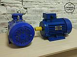 Електродвигун АИР90LB8 - 1,1 кВт, 750 об/хв Асинхронний Трифазний., фото 2