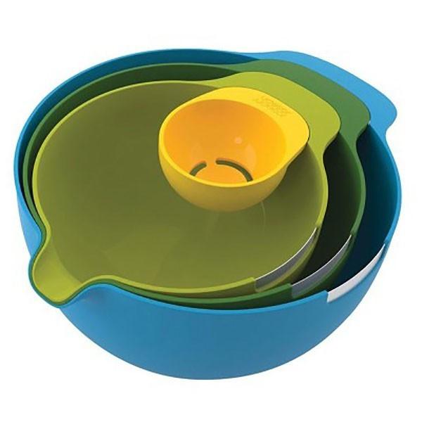 Набір мисок для змішування і сепаратор для яйця 4 предмета Joseph Joseph 40015