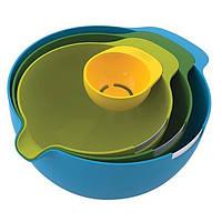 Набір мисок для змішування і сепаратор для яйця 4 предмета Joseph Joseph 40015, фото 1