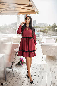 Платье женское Бордовый