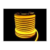 Светодиодный неон Led flex 12V IP68 желтый
