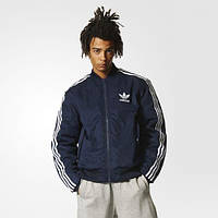 Мужская утепленная куртка бомбер Adidas Originals Bomber(Артикул:BR7129), фото 1