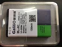 Аккумуляторная Батарея BL-4C 1250 mA усиленная
