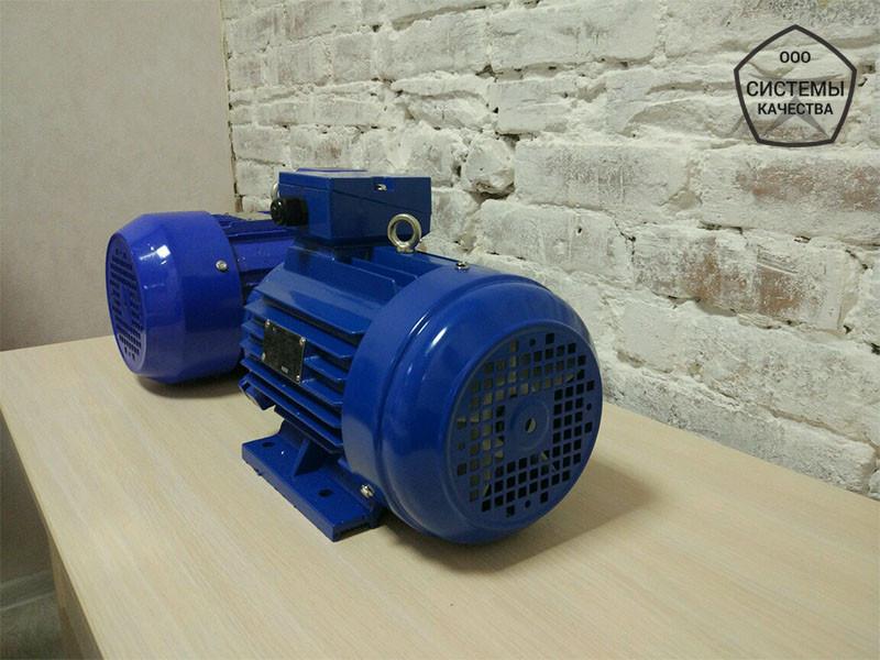 Електродвигун АИР132М8 - 5,5 кВт, 750 об/хв Асинхронний Трифазний.
