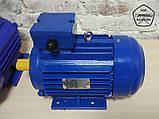 Электродвигатель АИР132M8 - 5,5 кВт 750 об/мин. Асинхронный Трехфазный., фото 2