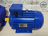 Електродвигун АИР132М8 - 5,5 кВт, 750 об/хв Асинхронний Трифазний., фото 2