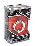 Металлическая головоломка Hanayama Loop (Уровень 1), фото 2