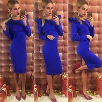 Платье облегающее в расцветках 14085
