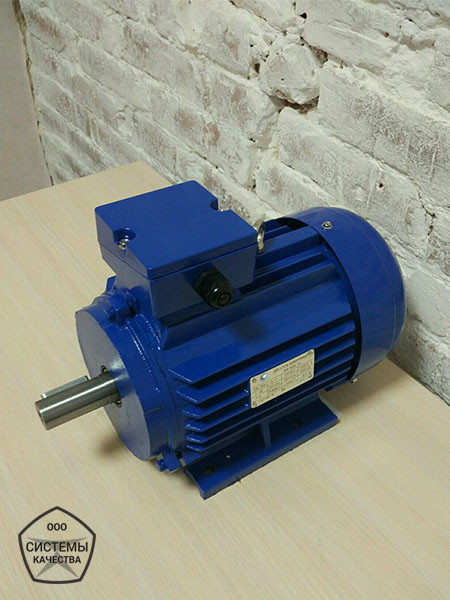 АИР80А6 0,75 кВт 1000 об/мин. Асинхронный электродвигатель