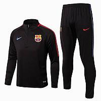 Тренировочный костюм FC Barcelona Nike Strike 2017/18 black/light green